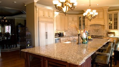 kitchen stone countertops in Rockville