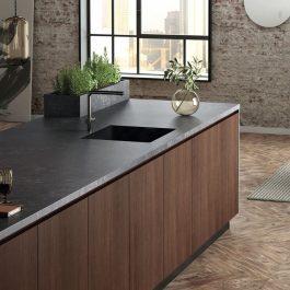 Silestone Corktown Suede Quartz Countertops