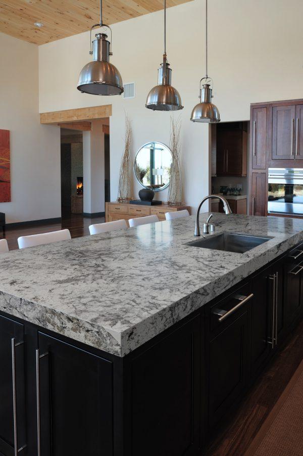 Delicatus Ice Sensa Granite Countertops