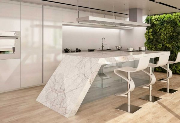 Level Invisible Porcelain Countertops
